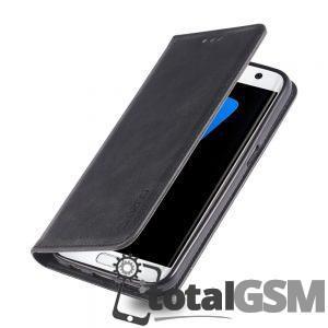 Husa Flip Samsung Galaxy S7 SM-G930 Neagra
