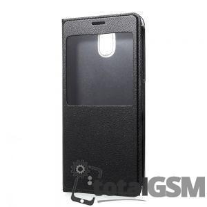 Husa Flip Samsung Galaxy J5 (2017) Piele Neagra