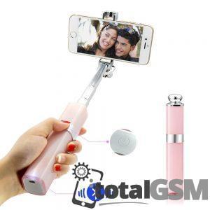 Selfie Stick Monopod forma ruj iPhone Samsung Lg Huawei Nokia Roz