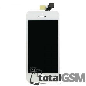Display Cu Touchscreen si Geam iPhone 5 Alb