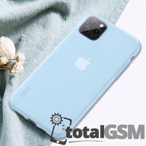Husa iPhone 11 Pro 5.8 inch Albatru Mat
