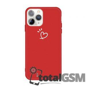 "Husa iPhone 11 Pro 5.8 inch Rosie Model ""Heart"""