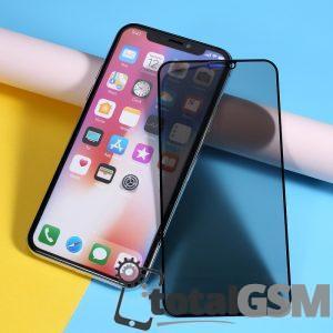 Geam Protectie Display iPhone 11 Pro X Xs 5.8 inch 5D Anti Spy